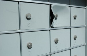 Landlord stole mail